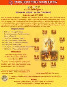 Sri Maha Vishnu Yajna